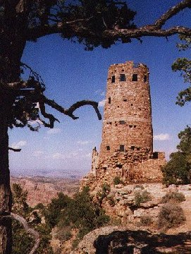 'Watchtower, Grand Canyon' ... NO PICTURE ? ... PLEASE DROP ME A MESSAGE !