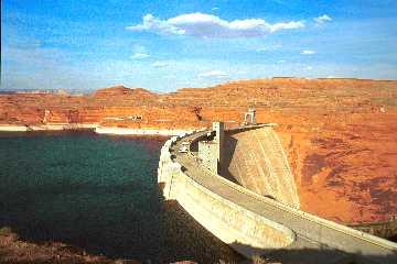 'Glen Canyon Dam' ... NO PICTURE ? ... PLEASE DROP ME A MESSAGE !